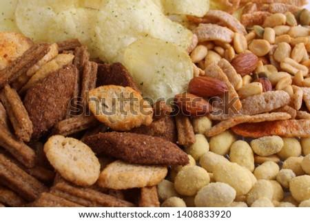 Set of snacks for beer #1408833920