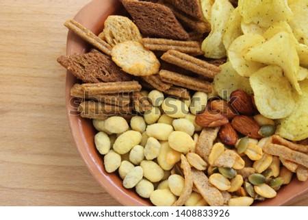 Set of snacks for beer #1408833926