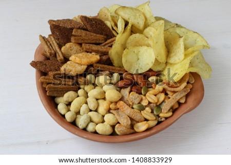 Set of snacks for beer #1408833929
