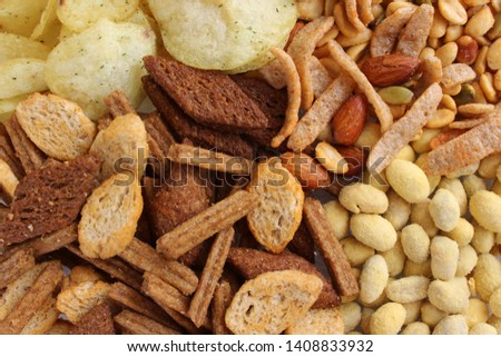 Set of snacks for beer #1408833932