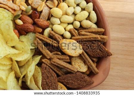 Set of snacks for beer #1408833935