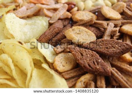 Set of snacks for beer #1408835120