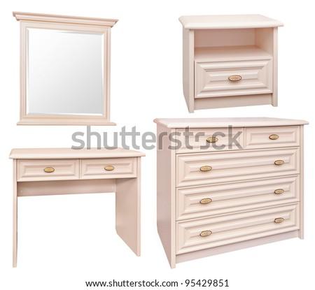 warwick cream and oak bedroom furniture