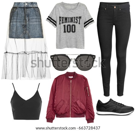 2a4331b4084 Set of stylish clothes
