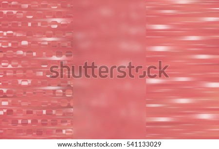 Set of three vintage backgrounds and illustrations with abstract picture #541133029