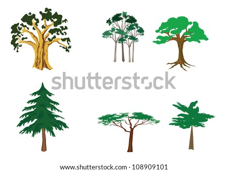 Set of tree