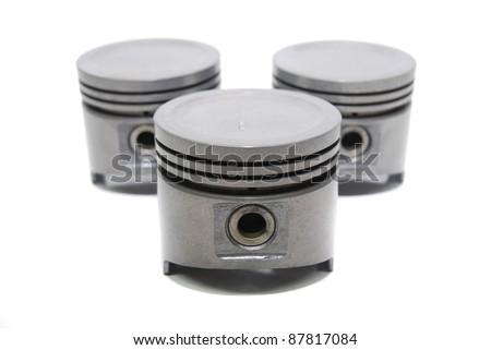 set of vehicle piston use in automotive industry