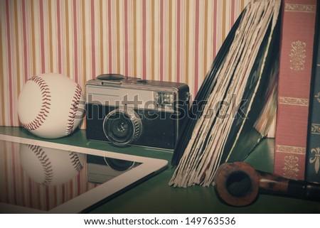 set of vintage and modern...