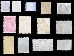 set old postage stamp