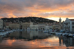 Sete, the Venice of Languedoc and the singular island in the Mediterranean sea, Herault, Occitanie, France
