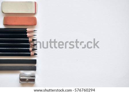 Sets of graphite pencils #576760294