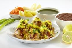 Sev Puri, Chat item, India
