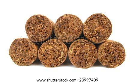 Seven cigars