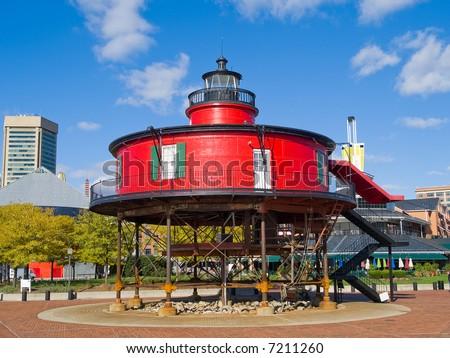 Seven Foot Knoll Lighthouse Museum, Baltimore