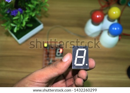 seven segment display - LED Display interfacing #1432260299