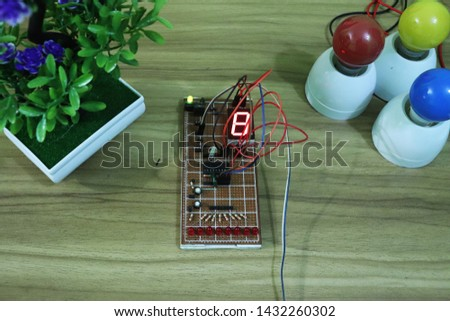 seven segment display - LED Display interfacing #1432260302