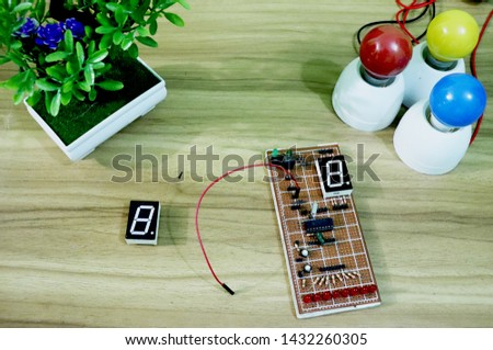 seven segment display - LED Display interfacing #1432260305