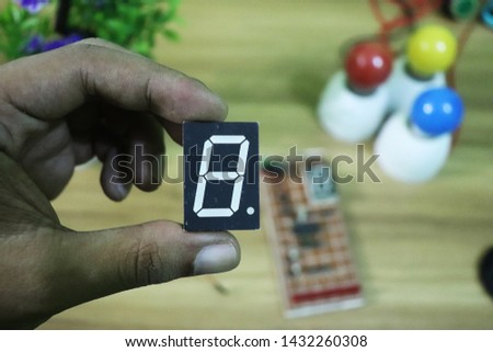seven segment display - LED Display interfacing #1432260308