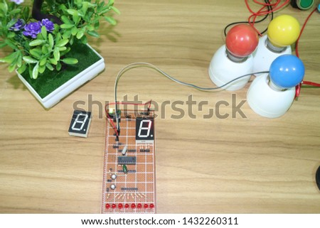 seven segment display - LED Display interfacing #1432260311
