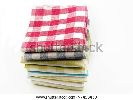 several tea towels