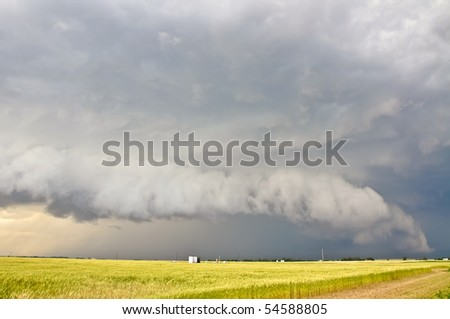 Severe storm approaching