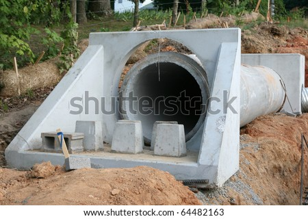 Sewer construction