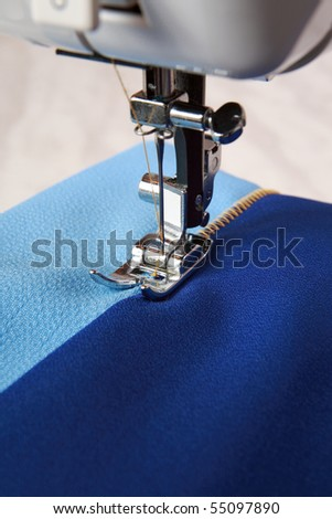 Sewing fabrics for sewing machine