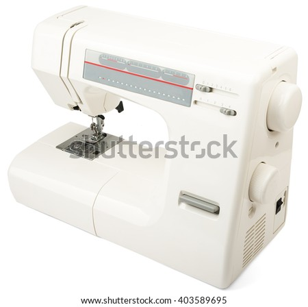 Sewingmachine On White EZ Canvas Unique Ez Sewing Machine