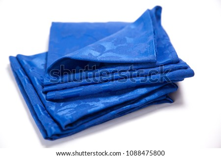 Sewing material neatly folded #1088475800