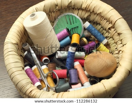 Sewing thread and sewing accessories