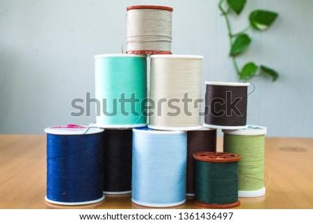 Sewing Thread Spool #1361436497