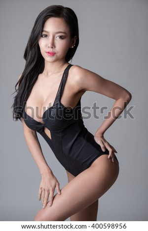 Consider, that sexy asian leotard really