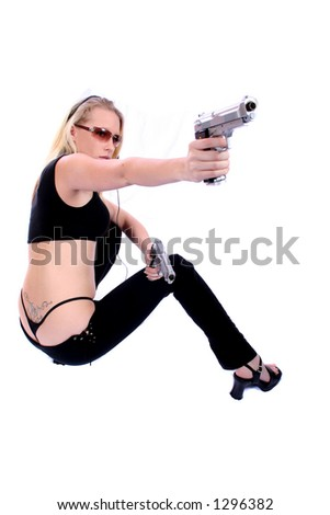 Sexy Assassin - Female Hitman - Law Enforcement Officer
