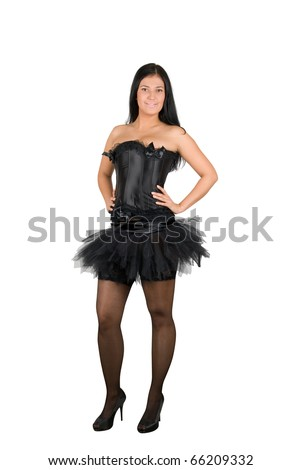 stock photo sexy ballerina at black corset isolated on a white 66209332 Others complain of their gag reflex getting in the way of oral sex.