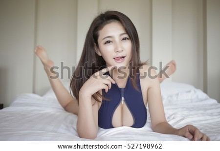 Women flirting asian