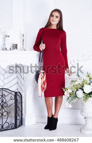 Royalty-free Beauty sexy business woman clothing ...