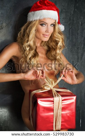 Me, please Santa claus sexy girls naked would like