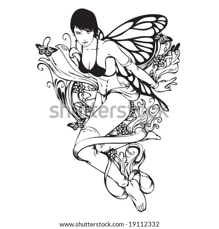 Sexy Fairy Tattoo image