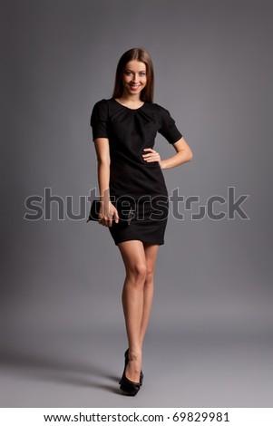 Sexy Fashion Lady - stock photo