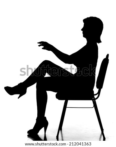 For Sexy lady silhouette images idea