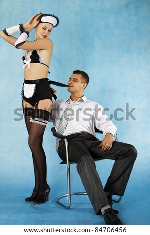stock photo sexy game of business man and his maid 84706456 Tags: asian, boys, FREE, gay, part6, porn, wild