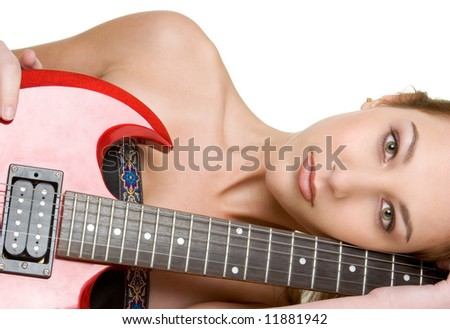 Sexy Guitar Woman
