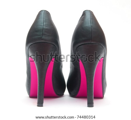 Sexy High Heels with Pink Sole