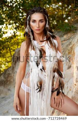 Sexy Native American Chicks