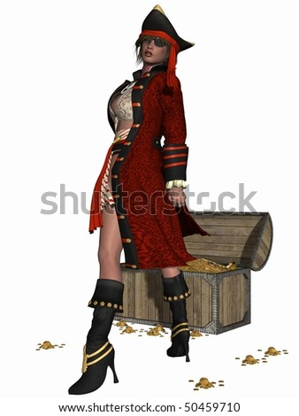 stock photo : Sexy Pirate