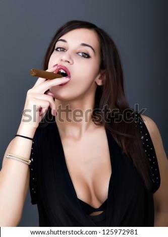 sexy smokers