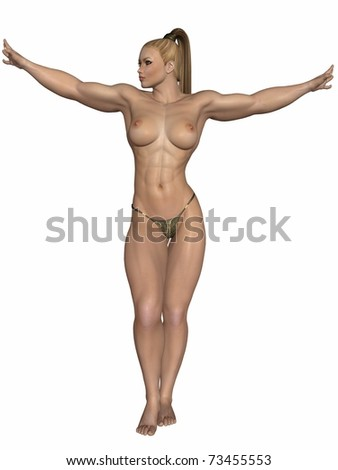 stock photo : Sexy Strong Women