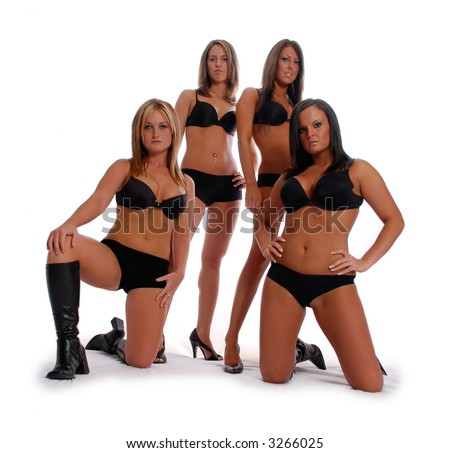 stock photo sexy women in lingerie 3266025 Gay family portrait 1