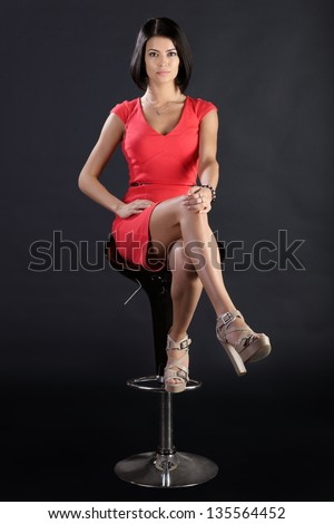 Girl on bar stool sorry