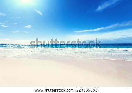 seychelles beach #223335583